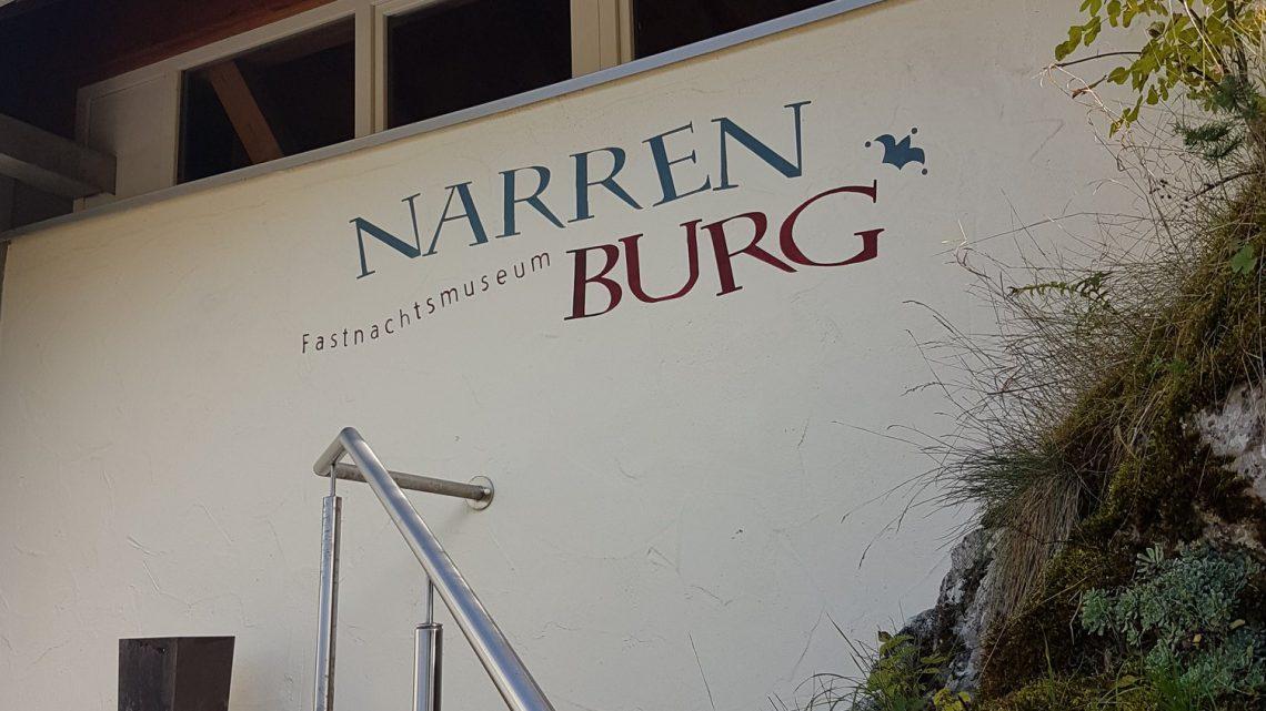Ausflug des Zunftrats ins Fasnachtsmuseum Narrenburg
